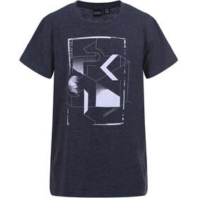 Icepeak Tate Camiseta Niños, black melange